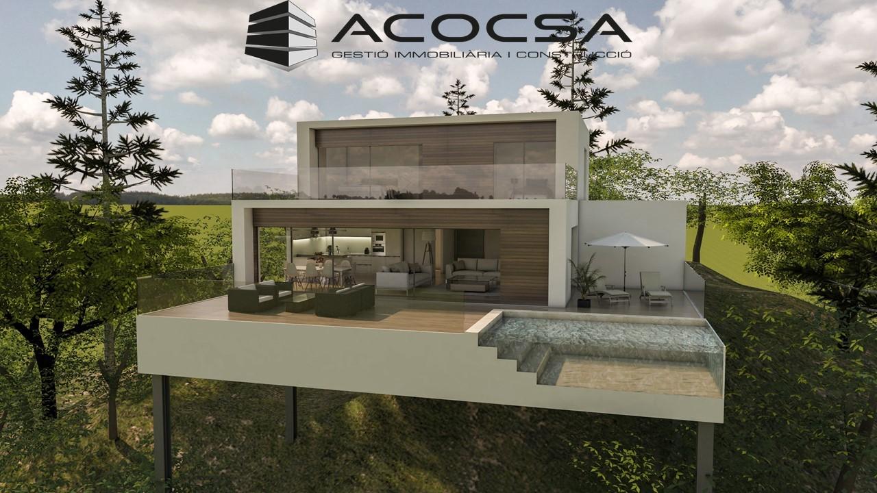 Corbera-019 Parcela de 1688 m2 con vistas en Corbera de Llobregat